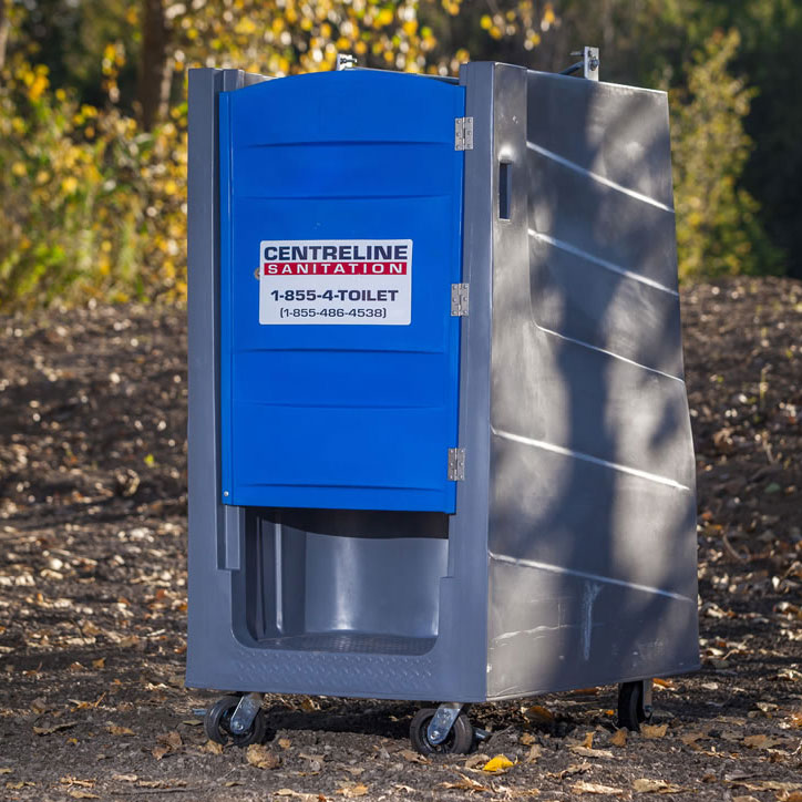 Polylift Elevator Portable Restroom