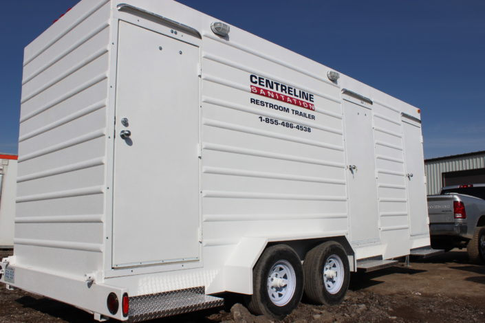 3 Plus 2 Restroom Trailer