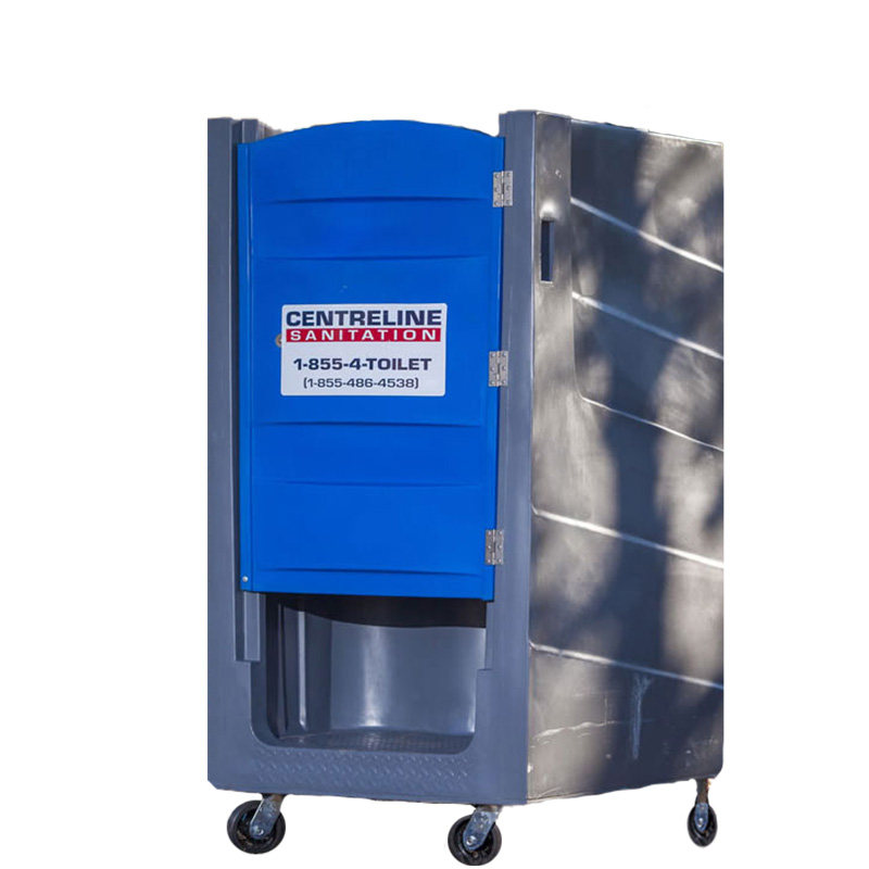 ● Polylift Elevator Portable Restroom